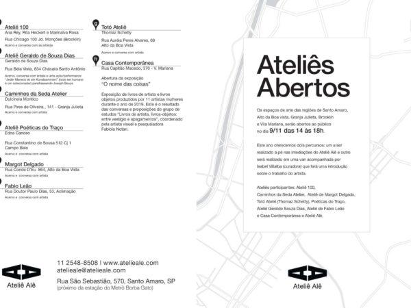 Visita Guiada Ateliês Abertos